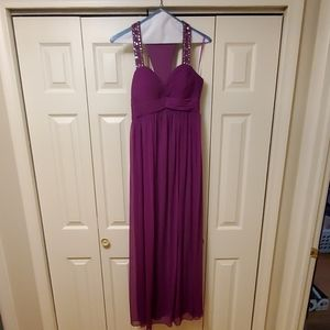 Purple Betsy & Adam Gown